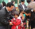 Món Quà Mùa Xuân cho các em học sinh nghèo ở Lào Cai
