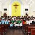 Sinh viên Công giáo Long Xuyên khai giảng năm học mới 2017- 2018