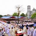 Gần 4000 Giới gia trưởng giáo phận Phát Diệm mừng lễ Thánh Giuse