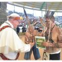 Đức Thánh Cha gặp dân chúng miền Amazzonia