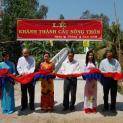 Caritas Việt Nam dự lễ khánh thành cây cầu tại Bến Tre