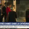 Nhị Vị Đệ Nhất Phu Nhân Melania Trump Và Brigitte Macron Kính Viếng Nhà Thờ Đức Bà Paris