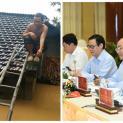 Miền Trung oằn mình vì lũ, Thủ tướng ngồi nhắn tin… ủng hộ người nghèo!