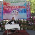 Đức Giám mục Đaminh Nguyễn văn Mạnh thuyết trình về đề tài: Sống tinh thần Sứ điệp Fatima