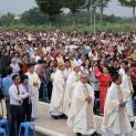 Thánh lễ đầu năm mới tại Trung Tâm Thánh Mẫu TàPao