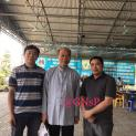 Đức Cha Giuse Ngô Quang Kiệt thăm hai Linh mục đang bị bách hại