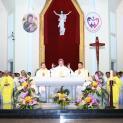 DCCT: Đức Giám mục dâng lễ đầu tiên mừng ngày thành lập Dòng