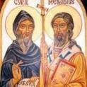 Ngày 13/2  Thánh Ciryl và Thánh Methodius  (c. 869, c. 884)