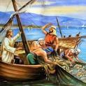 04/12 Chúa Giêsu chữa nhiều người và hoá bánh ra nhiều