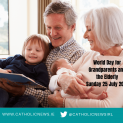 Cầu nguyện nhân Ngày Thế giới dành cho Ông bà và Người cao niên