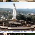 CÁC PHÁI ĐOÀN HÀNH HƯƠNG ĐI DO THÁI cung hiến tượng Đức Mẹ La Vang vào tháng 10, 2018