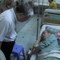 Viếng thăm và yểm trợ kinh phí chữa trị cho quý ông TPB VNCH