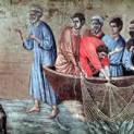10/4 Chúa Giêsu đến, cầm bánh và cá trao cho họ ăn