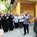 Đức Tổng Giám mục Giuse Vũ Văn Thiên lên đường sang Rôma nhận Dây Pallium
