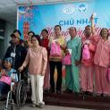 Chuyến đi của nhóm Bông Hồng Xanh ''Đem Mùa Xuân vào Mùa Chay''
