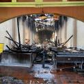 Los Angeles: Cứ điểm truyền giáo do Thánh Junípero Serra thành lập vừa bị đốt cháy