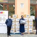 Đại Sứ quán Đài Loan cạnh Tòa Thánh giúp người vô gia cư