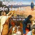 02/01 Gioan làm chứng về Chúa Giêsu