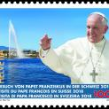 Tem in hình Đức Phanxicô được phát hành tại Thụy Sĩ