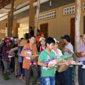 Giáo xứ Tân Việt: Cộng đoàn Lòng thương xót chia sẻ bác ái