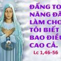 22/12 Đấng Toàn Năng đã làm cho tôi những sự trọng đại