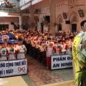 Giáo xứ Mỹ Khánh, Giáo phận Vinh tiếp tục cầu nguyện cho các tù nhân lương tâm
